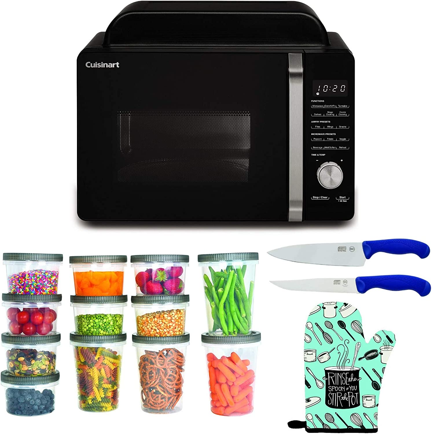 Cuisinart AMW-60 3-in-1 Microwave AirFryer Colorado Springs Mall Oven Convection Clearance SALE Limited time Bundl