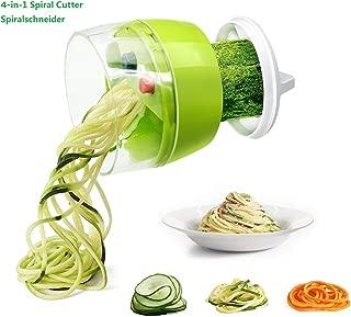 Fun Life 3 Lames Blender Coupe-Légumes Julienne Trancheuse avec ha Hachoir
