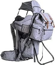 ClevrPlus Urban Explorer Hiking Baby Backpack Child Carrier |Gray Sunshade Bag