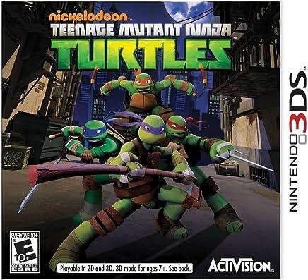 Amazon.com: NINTENDO 3DS DS GAME TEENAGE MUTANT NINJA ...