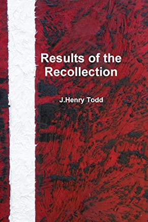 Results of the Recollection