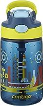 Contigo AUTOSPOUT Straw Gizmo Flip Kids Water Bottle, 14 oz., Nautical with Space Station