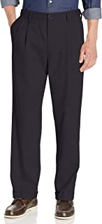 Men's Relaxed Fit Easy Comfort Pants D4-Pleated
