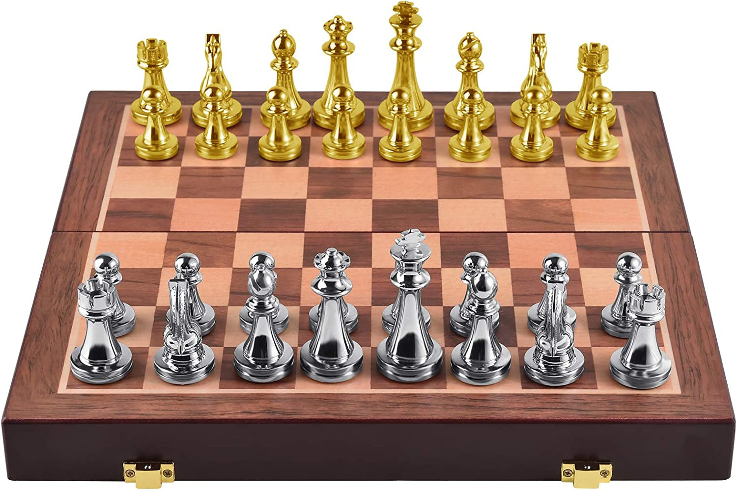 Agirlgle Metal Chess Set for Kids and Cheap mail order sales Max 64% OFF – Deluxe Adults