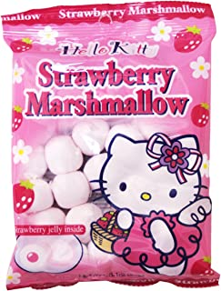 Hello Kitty Strawberry Marshmallow, 3.1 Oz. (Pack of 6)