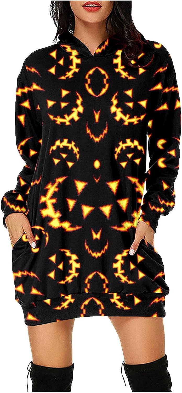 YALFJV Summer Dresses for Women wholesale Lo Casual Halloween Hooded Dress Jacksonville Mall
