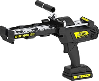 Albion Engineering E18T600 600 Series Cordless Multi-Component Cartridge Epoxy Adhesive Gun, 18V, 1:1 Ratio (300 x 300 ml) & 2:1 Ratio (300 x 150 ml)