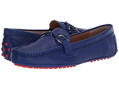 LAUREN Ralph Lauren Briley Moccasin Loafer (Blue) Women