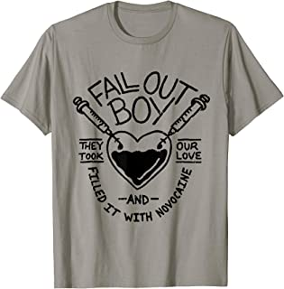 Mens Fall Out Boy - Novocain Tee