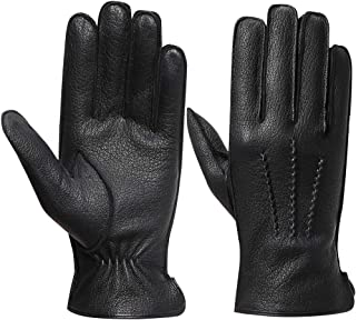 leather gloves wool lining