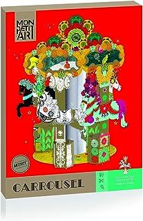 Mon Petit Art - Coffret Créatif Carrousel Chevaux du Monde - A partir de 7 ans