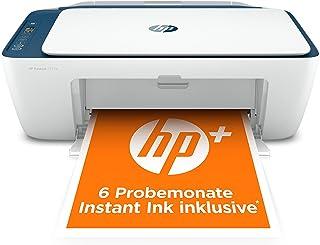 HP DeskJet 2721e Multifunktionsdrucker (HP+, Drucker, Scanner, Kopierer, WLAN, Airprint) inklusive 6 Monate Instant Ink