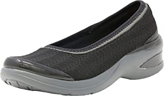 Bzees Women's ath Leisure Casual Comfort Shoe Relax