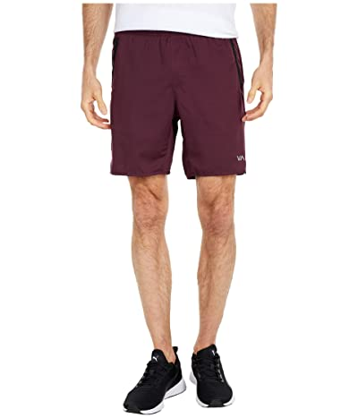 RVCA Yogger IV Shorts (Plum 1) Men