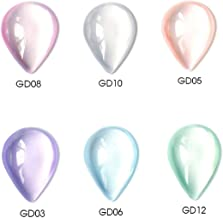 Vrenmol 6 Colors Sugar Jelly Gel Nail Polish Set Soak Off UV LED Refreshing Nail Art Set 8 ml