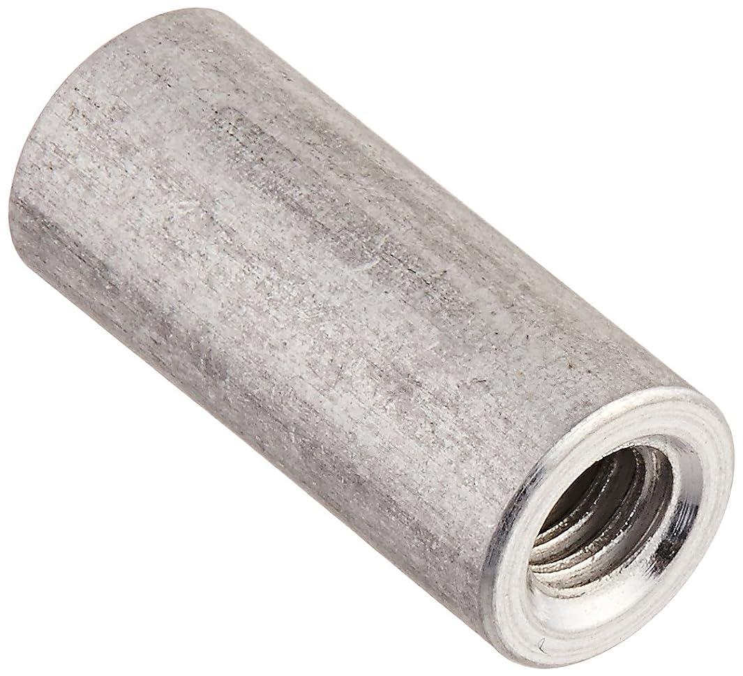 Round Standoff, Aluminum, Female, Clear Iridite, #4-40 Screw Size, 0.187
