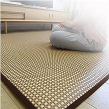 Cooling Rattan Floor Mat Foldable Mattress Bamboo Mat Dormitory Sleeping Pad Exercise Mat for Living Room Bedroom Yoga Zen...