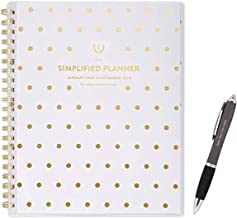 January2020 - December 2020 Simplified Weekly & Monthly A Planner, 8