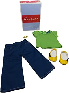 American Girl -  School Days Outfit for Dolls + Charm - MY AG 2013