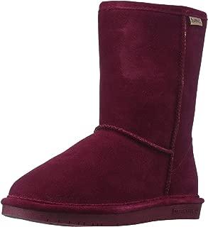 burgundy wine boots