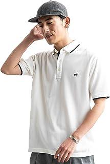 [グリーンレーベルリラクシング] 【WEB限定】SC★★D/C ロゴ ポロシャツ SS <機能性生地/吸水速乾?抗菌> 32171994645 メンズ
