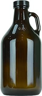 (12 pack) 32oz Amber Growler - Beer Brewing
