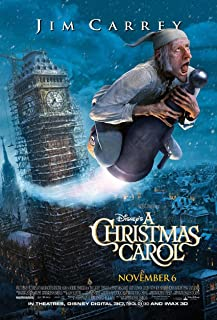 A CHRISTMAS CAROL MOVIE POSTER 2 Sided ORIGINAL FINAL 27x40 JIM CARREY DISNEY