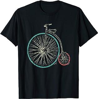 Penny Farthing T-Shirt Vintage High Wheel Men Women Kids