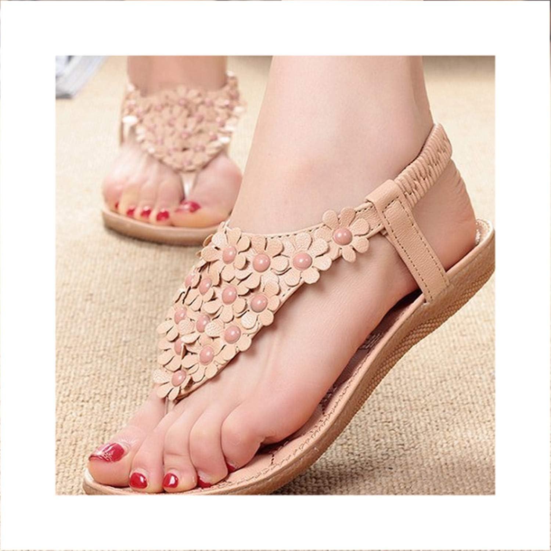 Ruddyin High Heels Women Sandals Summer Style Bling Bowtie Peep Toe Sandal Flat shoes 01F669