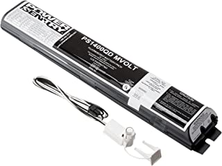 Lithonia Lighting PS1400QD MVOLT SD Quick Disconnect Emergency Ballast With Battery Control Module, 1400 Lumens Reduced-Profile, 120-227 Volts, Black