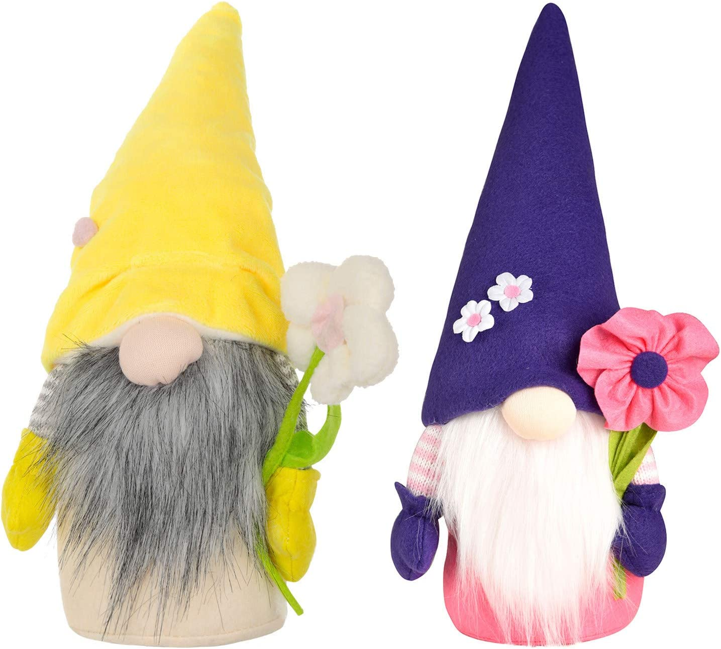 Fresno Manufacturer direct delivery Mall 2 PCS Spring Mothers Day Figurine Gnome Dwarf Household Dec Home