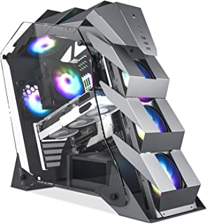 Vetroo K1 Pangolin Mid-Tower ATX PC Gaming Case, Dual...