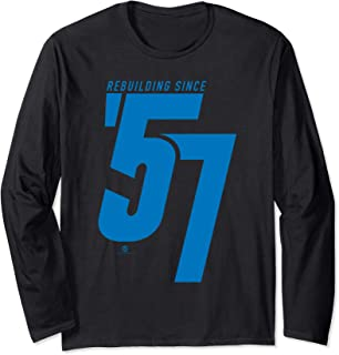 Rebuilding Since 57 (2019 Edition) Long Sleeve T-Shirt