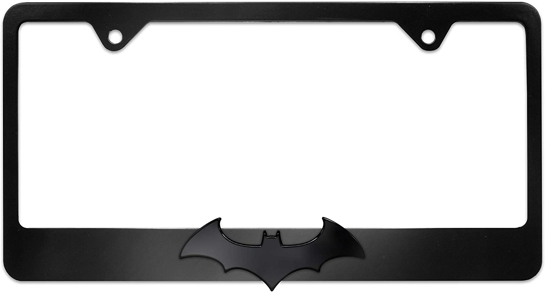 Batman Black Bat Black License Plate Frame