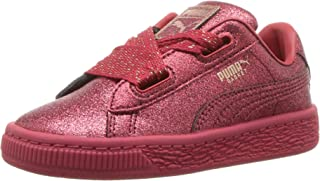 PUMA Kids' Basket Holiday Glitz Sneaker