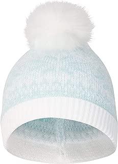 Fair Isle Knit Pom Pom Hat - Warm Winter Beanie