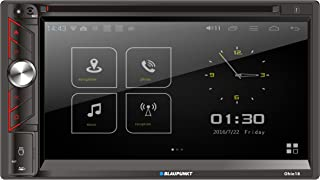 $149 » Blaupunkt Ohio18 Double Din Car Stereo in-Dash 6.9-Inch Touchscreen Multimedia DVD/CD Receiver with Bluetooth, AM/FM, Aux ...