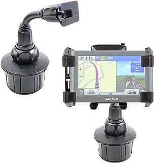 DURAGADGET Soporte Giratorio para Posavasos del Coche para GPS Garmin Nüvi 66LMT / 2699LMT-D / 56LMT / 2589LMT EU- ¡Tenga Su Dispositivo Siempre A Mano!