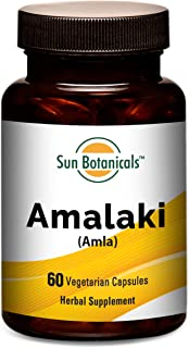 Amalaki Extract 1000 mg Vegetarian Per Serving Capsules 60 CT | Helps Detox and rejuvenate, Promotes Vitality | Provides N...
