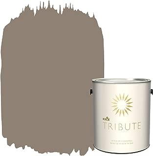KILZ TRIBUTE Interior Eggshell Paint and Primer in One, 1 Gallon, Cobblestone Streets (TB-19)
