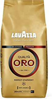 Lavazza Qualita Oro Roasted Coffee Beans (100% Arabica), Made In Italy