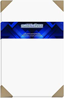 """$39 » 50 Bright White Smooth 80# Card Paper Sheets - 11"""" X 17"""" (11X17 Inches) Tabloid