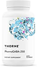 Thorne Research - PharmaGABA-250 - Natural Source GABA (Gamma-Aminobutyric Acid) Supplement - Promotes a Calm, Relaxed, Fo...