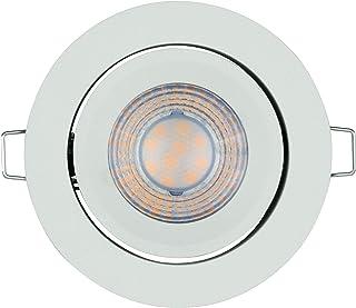 LEDVANCE Światło punktowe: for sufit, LED Spot Set Simple Dim / 5 W, 220…240 V, kąt rozsyłu światła: 40°, Ciepły biały, 27...