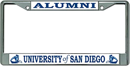 University of San Diego Alumni Chrome License Plate Frame
