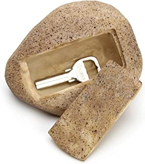 WAWIPLEX Faux Rock Key Hider, Garden Key Hider Outdoor, Hide A Key in Plain Sight in a Real Looking Rock/Stone - Safe for Outdoor Garden or Yard