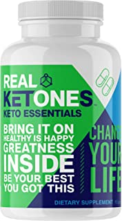 Real Ketones Essentials - Keto Multivitamins Pills (30 Day Supply) Vitamins, Minerals, and Aminos Supplement Blend for a K...