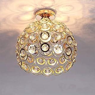 Plafonnier Moderne Industriel Luminaire en Métal, Suspensions Lustres Abat-Jour Blanc Lampe de plafond E27 éclairage Décor...