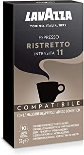 Lavazza Nespresso Compatible Ristretto 10 Coffee Capsules