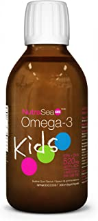 Nature's Way NutraSea Kids Omega 3 Supplement, Bubblegum, 200 mL Liquid